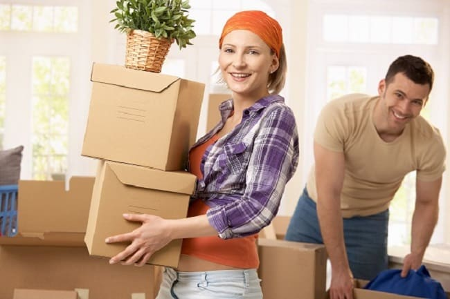 moving on your own, local movers